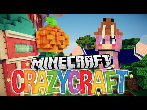 Halloween Trick or Treat Pranks   Ep 12   Minecraft Crazy Craft 3.0