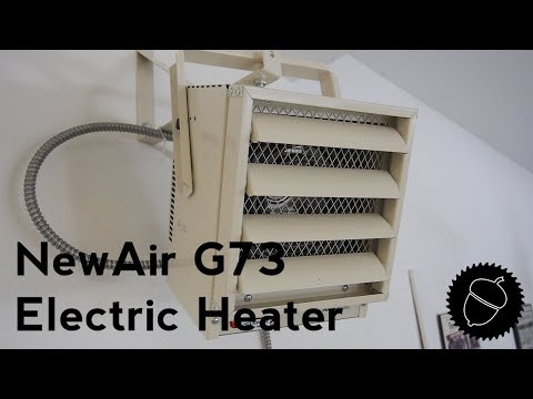 How to Heat Your Garage or Shop| NewAir G73 Electric Heater
