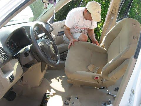Install Carpet to 2005 Honda CR V