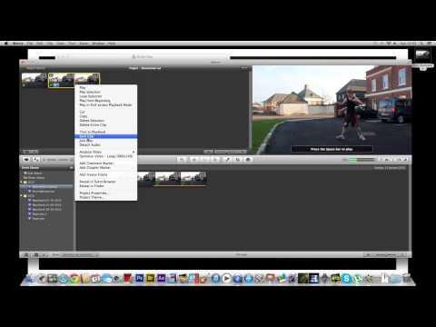 iMovie Slow motion tutorial