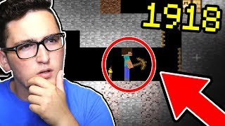 PLAYING MINECRAFT 100 YEARS AGO!