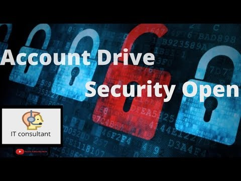 OPEN YOU DRIVE WITH ACCOUNTS