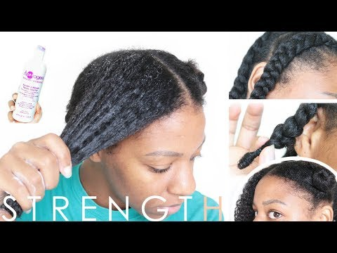 STRENGTHEN + REPAIR DAMAGED HAIR // RESTORATIVE PROTEIN TREATMENT (Tested) | T'keyah B