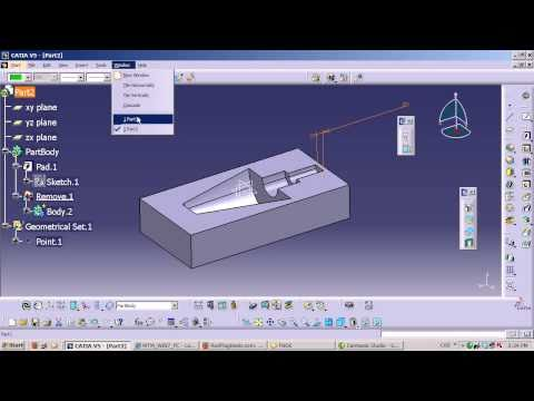 CATIA V5 Quick Tip -  Simple Mold design approach