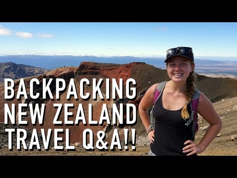 BACKPACKING NEW ZEALAND TRAVEL Q&A!!