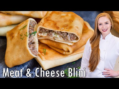 Meat & Cheese Blini