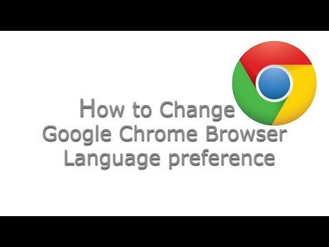 How to Change Google Chrome Browser Default Language