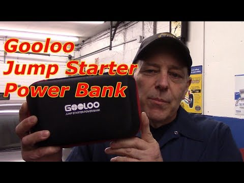Tool review for Gooloo Jump Starter Power Bank