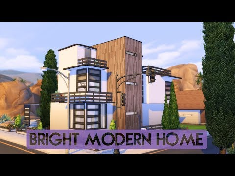 Sims 4 | House Building | Bright Modern Home