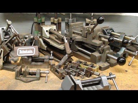 Drill Press Vises Galore Tips #441 tubalcain the hoarder