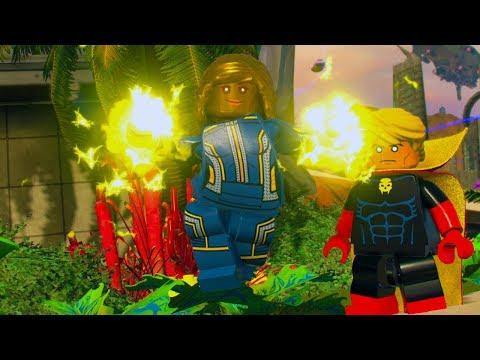 LEGO Marvel Super Heroes 2 Ayesha Unlock Location + Free Roam Gameplay