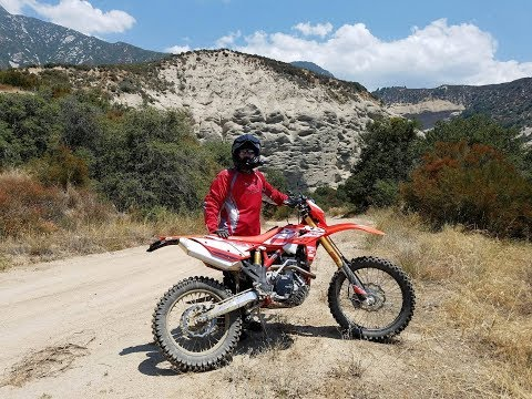 My First Dirt Ride with my new Beta 390RRS at Big Bear
