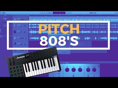 GarageBand Tutorial - How To Pitch 808