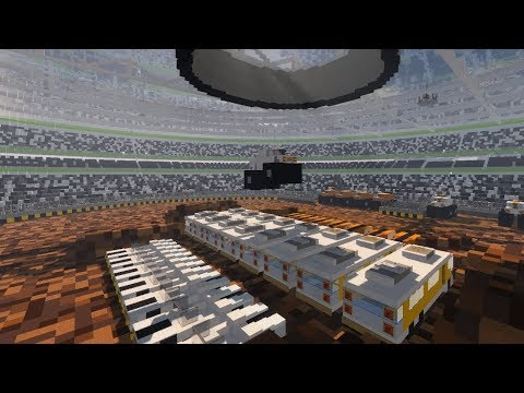 Minecraft: Transforming My Football Stadium Into A MONSTER TRUCK ARENA (+DOWNLOAD)