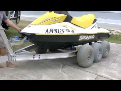 The Terrier PWC Jet Ski Trailer