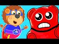 Lion Family Jelly Bear And Jelly Sweets Cartoon For Kids