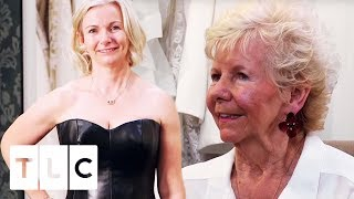 The Ultimate Edgy Biker Chick Dress! | Say Yes To The Dress UK