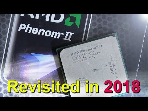 AMD Phenom II X4 955 from 2009 -- Revisited in 2018