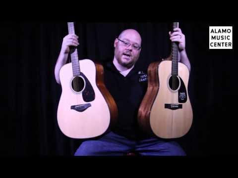 Yamaha FG700S vs Fender DG 8S Comparison - Which Beginner Acoustic Guitar is Better?