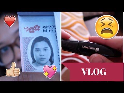 Got my Japan Visa! | throwing expensive make up