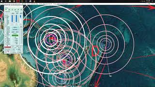 Download 1/17/2019 - Wide spread of Earthquakes across whole USA - Pacific unrest shows clusters Video