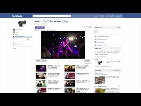 Add YouTube Channel on Facebook Fan Page in under a minute