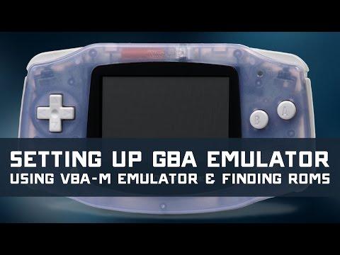 VBA-M Gameboy Advanced Emulator Setup Tutorial & Finding ROMs