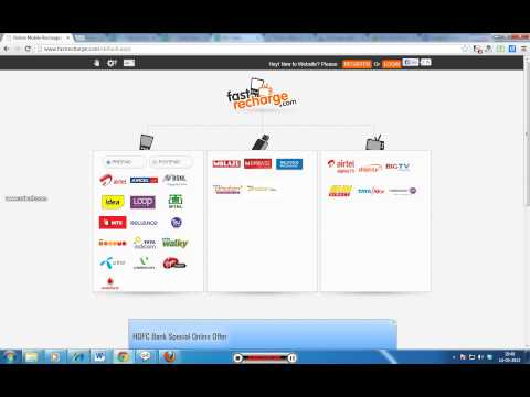 How To Make Online Mobile Recharge?