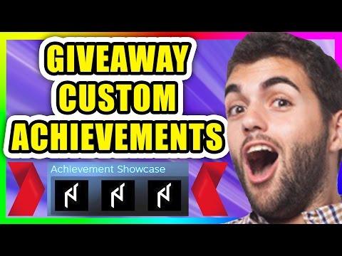 Steam: Custom Achievements *giveaway* (NO VAC)