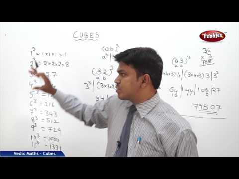Cubes in vedic maths | Speed Maths | Vedic Mathematics