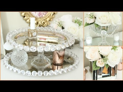 DOLLAR TREE GLAM ROOM DECOR DIY TUTORIAL