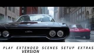 Fate of the Furious Blu-ray Menu (4k/2017) FANMADE