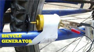 BICYCLE GENERATOR.