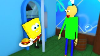 Baldi S Childhood Sad Roblox Animation