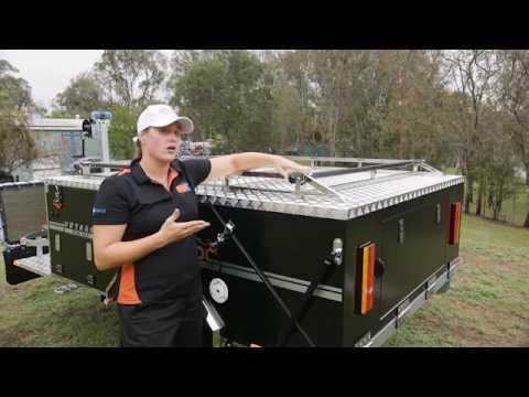 MDC VOYAGER RF (Rearfold Hardfloor) Camper Trailer