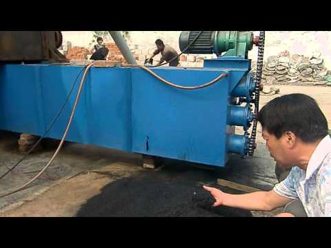 How it's made charcoal/ Continuous Carbonization Furnace/ Sawdust/wood/Coconut shell Testing