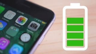 How to Get Better Battery Life on Your iPhone!