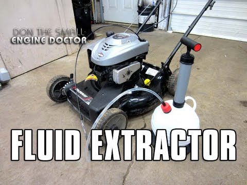 Easily Change Your Lawnmower Oil With Oregon Lube-Oil Extractor #88-400