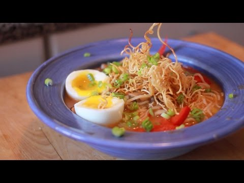 The 15 Minute Dinner Series - Asian Noodle Soup