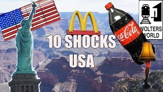 Visit USA - 10 Things That Will SHOCK You About America