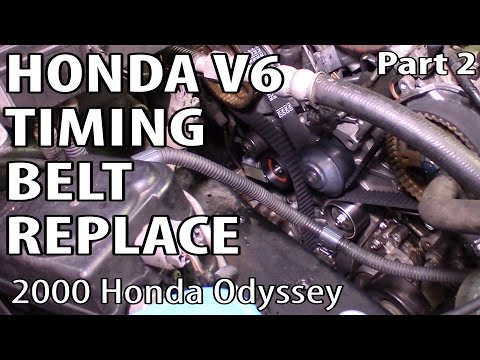 Honda Accord Odyssey Element V6 Timing Belt Replacement Part 2
