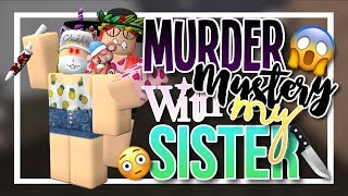 MURDER MYSTERY 2 WITH MY SISTER || Pinkie