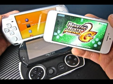 The First PSP Emulator on iPhone, iPod Touch & iPad - PPSSPP Playstation Portable on iOS 6