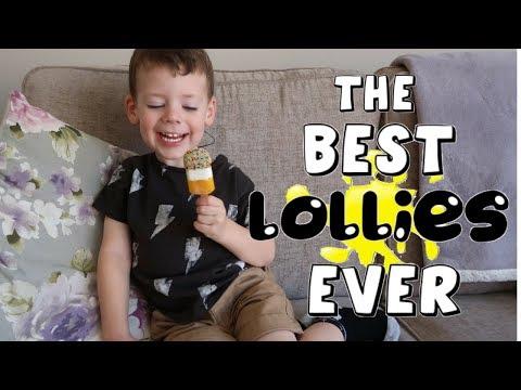 KIDS TREATS UNDER 100 CALORIES | TASTE TESTING FAB & SMARTIES MINI LOLLIES AD