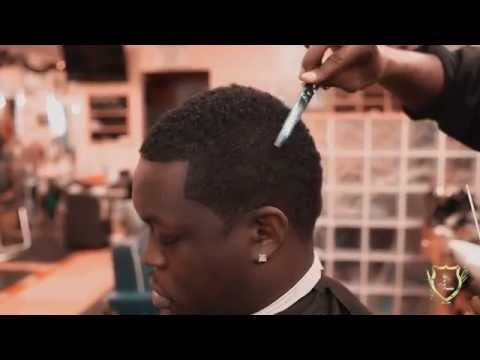 Barber Shop or Barber School Learn How to Cut Hair as Donta Rice of Dominant Techniques Shows ALL