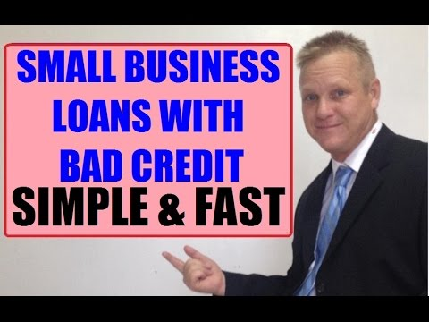 Where To Get Small Business Loans With Bad Credit