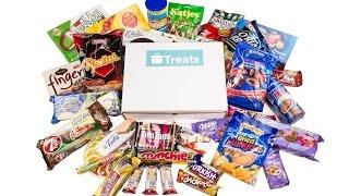 Treats; Explore the world through food - разопаковане на кутия с лакомства