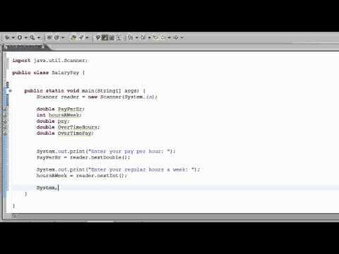 11TH Java Tutorial - Weekly Pay Calculator