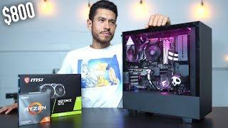 $800 Gaming PC Build - GTX 1660 Ti Ryzen 5 3600 (w/ Benchmarks)