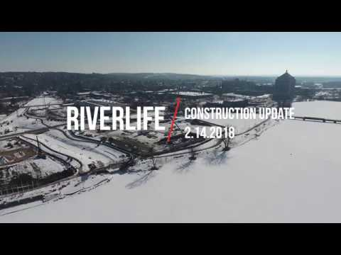 Riverlife Village and Commerce Center Construction Update 2.14.2018
